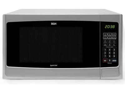BGH microondas 28lts Digital c/grill Quick Chef